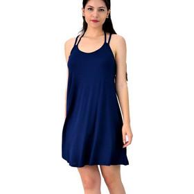 647b92ef5ace Μίνι φόρεμα με χιαστί