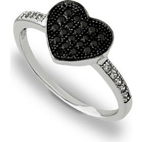 Δαχτυλίδι από Χρυσό 14Κ σε Λευκό Χρώμα με Ζιργκόν 315d8c5d37f
