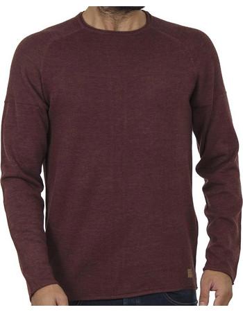 Ανδρικό Πουλόβερ Πλεκτή Μπλούζα BLEND 20706288 Μπορντό 7d67e64d88c