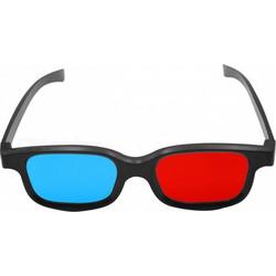 89e2056251 3D Γυαλιά με Πλαστικό Σκελετό και Κόκκινο Μπλε Τζαμάκι (OEM) (BULK)
