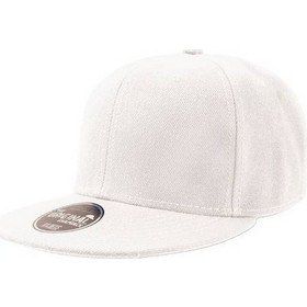 07f7236d5d68 Atlantis 845 Snap Back Εξάφυλλο καπέλο τζόκεϋ 100% Aκρυλικό - WHITE
