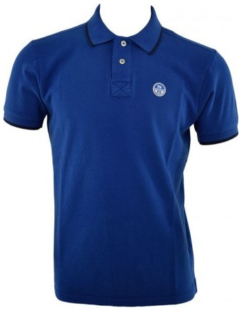 4e7739e30b9c NORTH SAILS POLO T SHIRT 92 ICONS 694431 NAVY ΜΠΛΕ