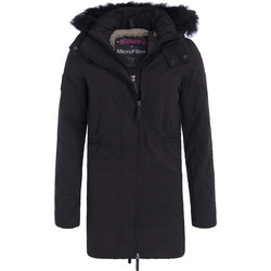 SUPERDRY ADULTS HOODED MICROFIBRE PARKA ΜΠΟΥΦΑΝ ΓΥΝΑΙΚΕΙΟ G50020YP-FR7 e4a3db485e4