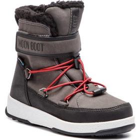 Χιονιού MOON BOOT - Jr Boy Boot Wp 34051600002 Black Castleroc 14fd416aff7