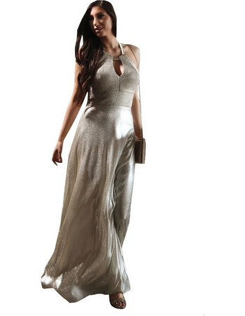 de3cdaa67d9 cecilia-personal S19C268 Φόρεμα χρυσό. Χρυσό Cecilia Personal