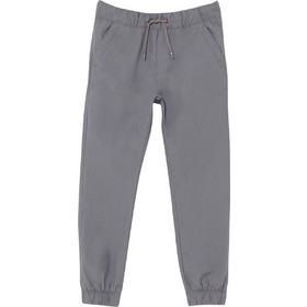 9103116f5e1 OVS παιδικό παντελόνι φόρμας μονόχρωμο με κορδόνι - 000393674 - Γκρι