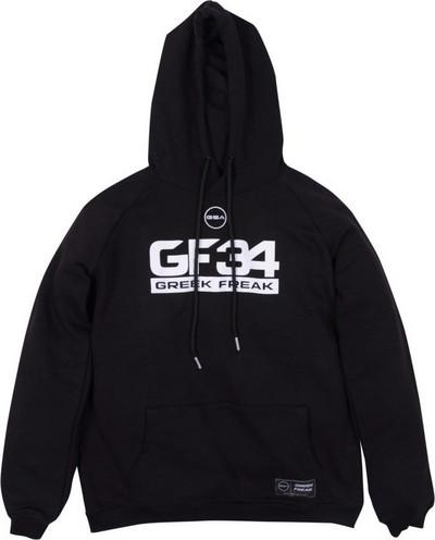 GSA Greek Freak Supercotton Hoodie 3418001-Jet Black  b5e075d923a