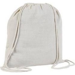 b6715bdbc9 UBAG Denver τσάντα ώμου με κορδόνια 100% βαμβάκι 110grs. 37 x 41εκ. -