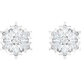 75a53bdc2 SWAROVSKI Magic, Pierced Earrings, White, Rhodium Plating 5428430