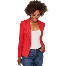 Vero moda 10167254 Blazer Κόκκινο VERO MODA 1324375cb42