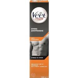 Veet Men Κρέμα Αποτρίχωσης για Άντρες για το Στήθος και Πλάτη για Ξηρό  Δέρμα 973dc372c1e