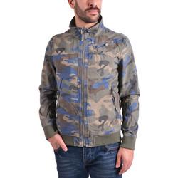 Emerson Stone Washed Jacket SMR1706C-CT Camo Blue 32b75524245