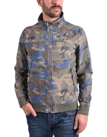Emerson Stone Washed Jacket SMR1706C-CT Camo Blue 7ebe50d4989
