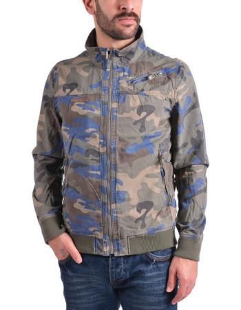 Emerson Stone Washed Jacket SMR1706C-CT Camo Blue 4e8a83770ae