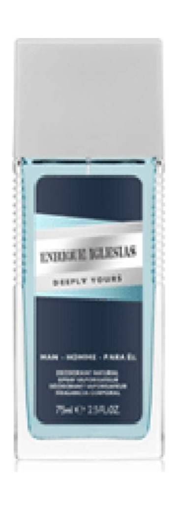 Enrique Iglesias Deeply Yours For Him Deodorant 75ml