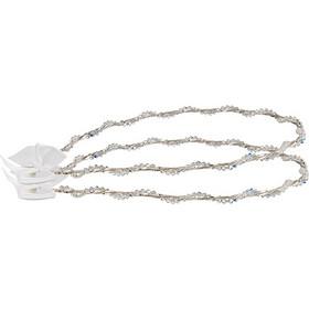 Στέφανα γάμου λευκά από ασήμι 925 με πέτρες swarovski - Ioannis Collection  - D229L 8bf6b384297