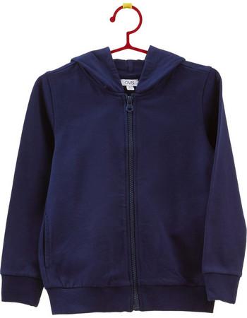 OVS παιδική ζακέτα φούτερ μπλε σκούρα με κουκούλα - 000294229 - Μπλε Σκούρο cac22252816