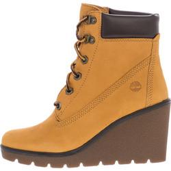 d66cdb55316 Γυναικεία Μποτάκια A1S9O Κίτρινο Δέρμα Νούμπουκ Timberland