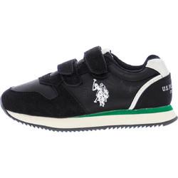 d201d1d6f13 Παιδικά Παπούτσια Casual Sunny.1 Μαύρο Δέρμα U.S. Polo Assn