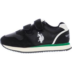 c68c7189299 Παιδικά Παπούτσια Casual Sunny.1 Μαύρο Δέρμα U.S. Polo Assn