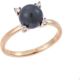 Δαχτυλίδι με Μαργαριτάρι Χρυσό 14Κ σε Ροζ Χρώμα a1e116f00a4