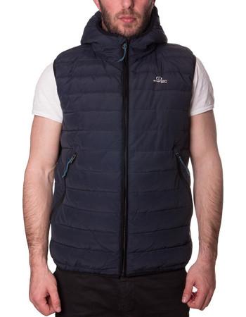 Emerson Fake Down Vest Jacket 181.EM15.07-CN Navy 7a0daf3a5de