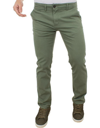 76b3eb235929 Ανδρικό Παντελόνι Chinos Pants DOUBLE CP-217 Olive