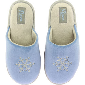 Parex Γυναικεία Παντόφλα Snowflake Μπλε fa9a59f46db