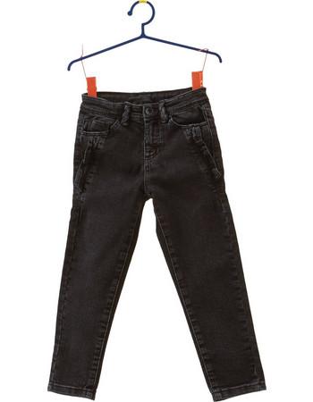 Παιδικό πεντάτσεπο τζην παντελόνι OVS - 000261508 - Μαύρο 255d6f6c364