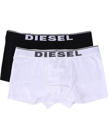 Diesel σετ 2 εσωρούχων boxer umbx Damientwopack - 00SMKX 0JKKB - Μαύρο 099a2bb7c80