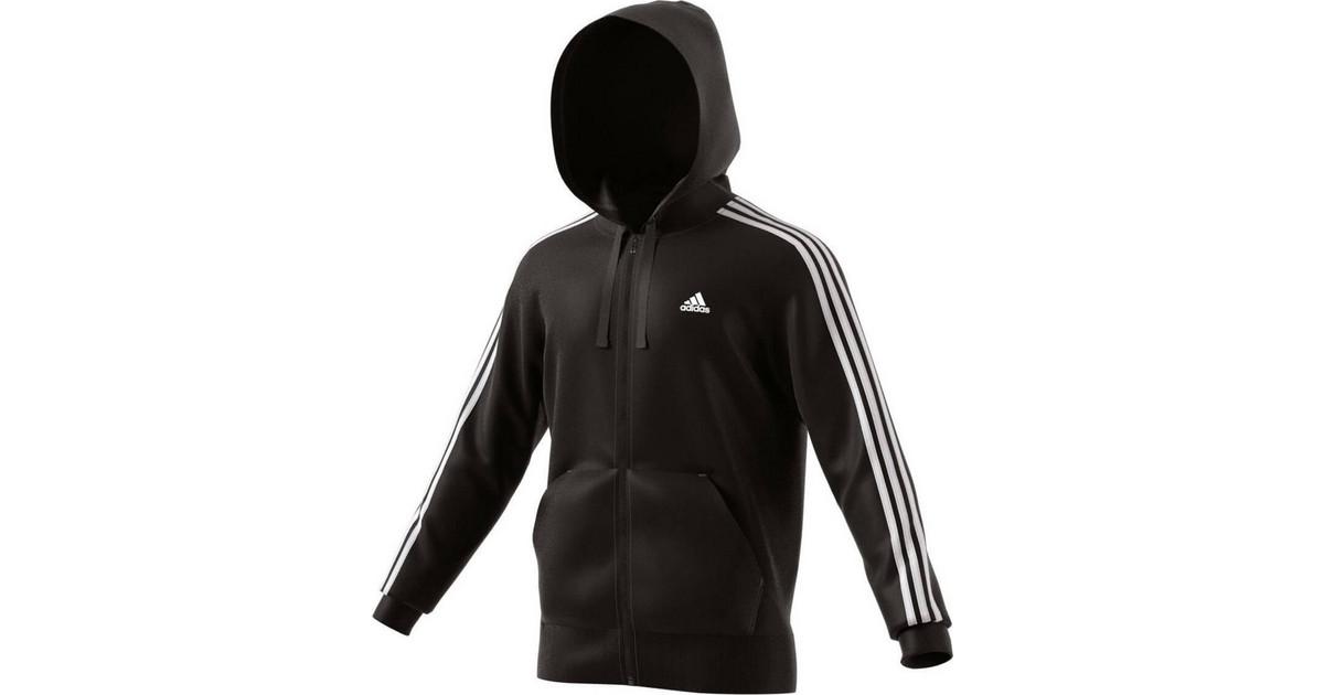 inizio bastone sciopero  Adidas Sport Essentials 3-Stripes Fleece Hoodie B47368   BestPrice.gr