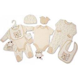 3384d554152 Αγγλικό Σετ Δώρου 100% cotton, 6 τεμαχίων - της Nursery time GP0765 nursery  time
