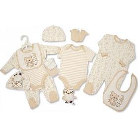 7c112607a88 Αγγλικό Σετ Δώρου 100% cotton, 6 τεμαχίων - της Nursery time GP0765 nursery  time