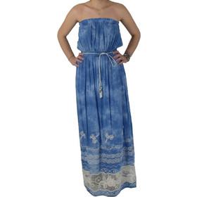 122a7c3e0939 Φόρεμα Στράπλες Matis 3116972 Γαλάζιο matis 3116972 galazio