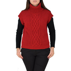 11d601cbb2c4 Γυναικεία Πλεκτή Μπλούζα Με Ζιβάγκο Lovin Cloz 08-1026 Κόκκινη lovin cloz  08-1026