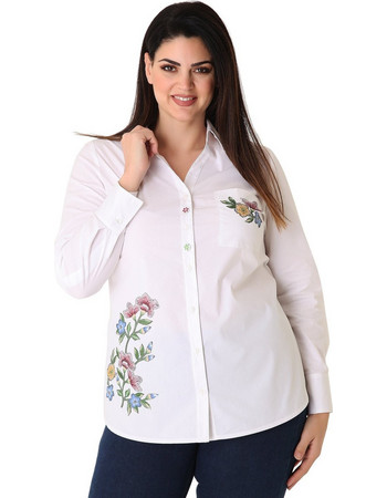 e664f371c629 πουκαμισα γυναικεια ασπρη - Γυναικεία Πουκάμισα (Σελίδα 8 ...