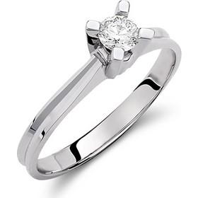 Μονόπετρο δαχτυλίδι απο λευκό χρυσό 18 καρατίων με διαμάντι 0.24ct. AS1018 62c50bb74e5