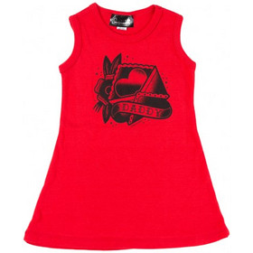 064252811e1 Sourpuss Daddy's Heart Kids Dress