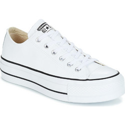 12c4ee4f504e38 Converse Chuck Taylor All Star Lift Clean Leather Low Top 561680C