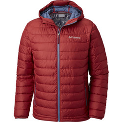 6cdafc9651b Columbia Powder Lite Hooded Jacket Red Element/ Dark Mountain WO1151-612