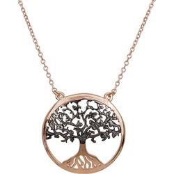 Ροζ gold κρεμαστό Κ14 δέντρο της ζωής 027544 027544 Χρυσός 14 Καράτια 9a726c23b22