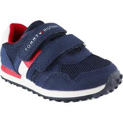 71fe4bf523b Tommy Hilfiger Παιδικό Sneaker T3X4-30341-0584 800 MIDNIGHT