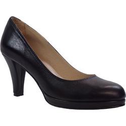 Πετρετζίκης shoes Γυναικεία Παπούτσια Δερμάτινα 100 Μαύρο Δέρμα 38404 8a21b731779