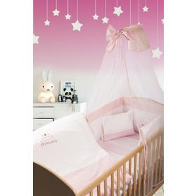 Σετ Προίκας Μωρού 3 Τεμαχίων Dim Collection Princess 33 Λευκό-Ροζ bbb5201a422