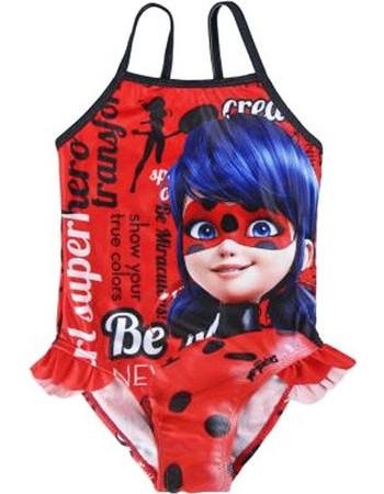 faa8a7c3e07 Παιδικό Ολόσωμο Μαγιό Miraculous Ladybag Κόκκινο Χρώμα Disney