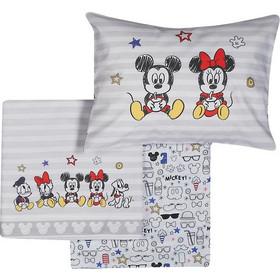 f96e859cb30 Σετ σεντόνια κούνιας 3(τμχ) Mickey Best Friends Baby Collection - Nef-Nef