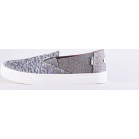 18c67505746 TOMS Twill Glimmer Youth Luca Slip On Shoes - Παιδικά Παπούτσια 10012663